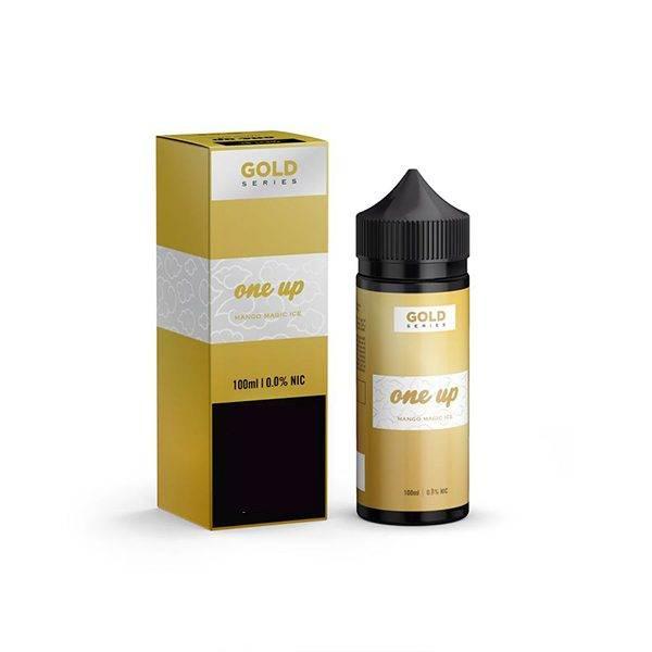 Mango Magic Ice - One Up Gold 80ml E-juice