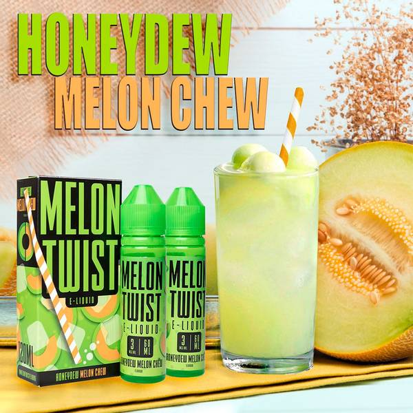 Honeydew Melon Chew - Twist E-Liquid 60 ml