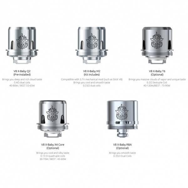 Smok X-Baby X4 Core Fordamperhode 0.13 Ohm